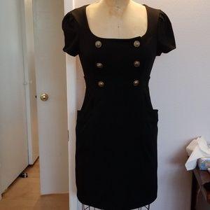 NWOT Forever 21 sheath work office black dress